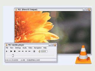 Flexibler Mediaplayer für lokale Dateien und gestreamte Inhalte