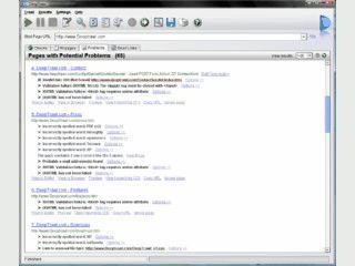 Tool für Webdesigner/Webmaster zur Kontrolle von Websites.