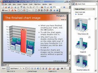 Erweiterung für MS Powerpoint um 3D Effekte und Diagramme zu erstellen.