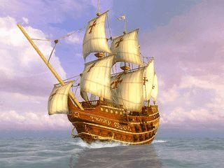 Eine virtuelle Reise mit dem Segelschiff Queen Victoria als Bildschirmschoner