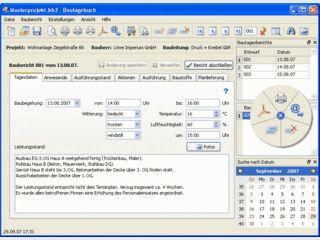 Software für Architekten und Bauherren zur Baudokumentation usw.
