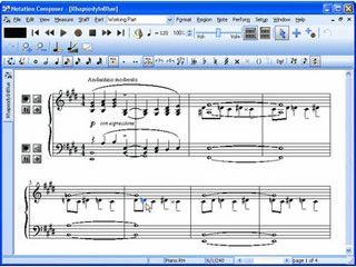 Sound- und Noteneditor zum komponieren eigener Musik