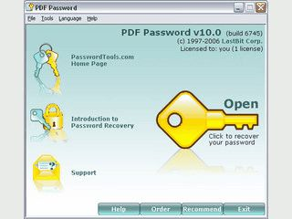 Password-Recovery Tool für Acrobat PDF Dateien.