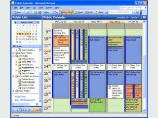 Gemeinsamer Zugriff auf MS Outlook Ordner und Verzeichnisse.