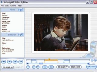 Videodateien teilen und schneiden. Auch per Stapelverarbeitung.