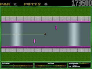 Minigolf für bis zu 8 Spieler mit Internet-Highscoreliste und Bonusrunden