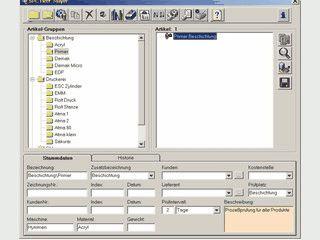 Software für die statistische Prozeßkontrolle (SPC).