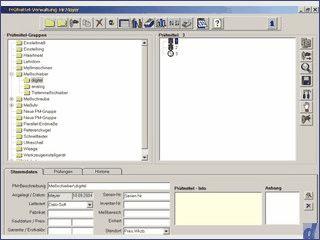 Software für das Prüfmittelmanagement.
