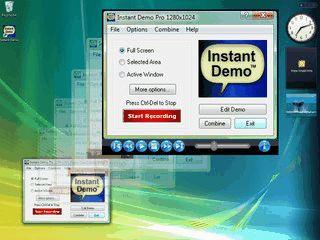Aktivitäten auf dem Desktop aufzeichnen und als Flash-Datei speichern.