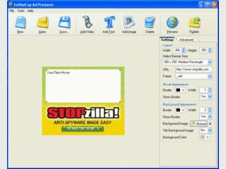 Erstellung von Flash-basierten Video-Banner.