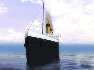 Das wohl bekannteste Passagierschiff der Welt als Bildschirmschoner.