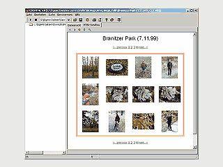 CD2HTML erzeugt automatisch aus beliebigen Dateien und Verz. HTML-Seiten.