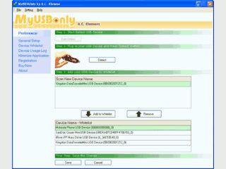 Datenklau via USB-Sticks und -Festplatten verhindern.