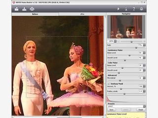 Software zur Verringerung des Rauschens auf digitalen Bildern