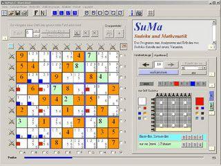 Software für das Training und die Strategieentwicklung bei Sudoku-Rätseln.