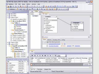 SQL-Abfragen in einer intuitiven Oberfläche