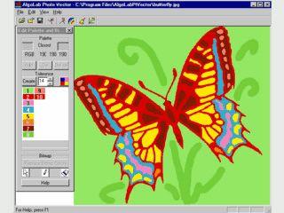 Gerasterte Bilder lassen sich in Vectorgrafiken umwandeln.