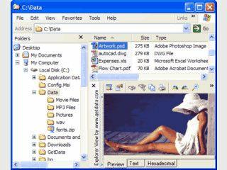 Schnelle Anzeige von Dateianlagen in MS Outlook.