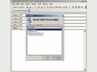 Ermöglicht Ihnen unterschiedliche Persönlichkeiten in MS Outlook zu verwenden.