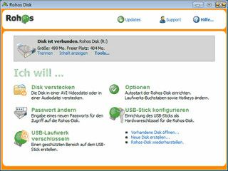Verschlüsselte Partitionen auf USB-Datenträgern erstellen und nutzen.