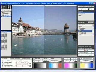 Stapel-Bearbeitung von Bildeigenschaften wie Farbe, Kontrast usw.