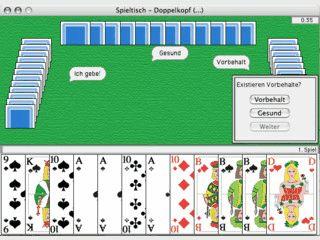 Doppelkopfspiel für Macintosh nach offiziellen Regeln.