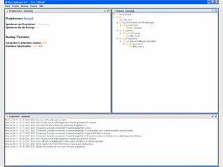 Software für die Durchführung von Datensicherungen.