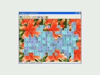 Mahjongg Variante mit nur einer Ebene.