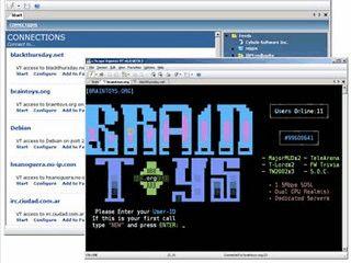 Client für verschiedenste Terminal-Server mit SSH Unterstützung.