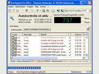 Schutz vor Viren und Spam bereits auf dem Mailserver