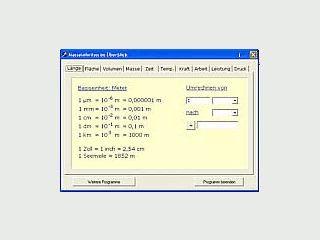Umrechnung von Maßeinheiten - ideal für Schule und Ausbildung