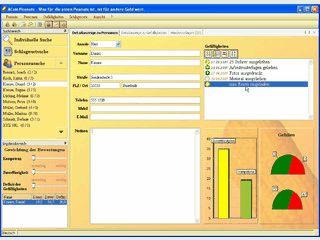 Software zur Organisation und Verwaltung von Networking zu Kontakten.
