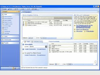 Verwaltung für alle Kunden- und Projektbezogenen Daten, Dokumente usw.