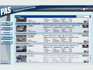 Sucht automatisch nach neu eingestellten Fahrzeugen bei Fahrzeugbörsen.