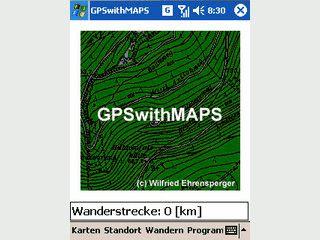 GPS Navigation zum Wandern mit eigenen Karten im Rasterformat