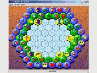 Mahjongg Variante die an das Spiel Tendo angelehnt ist.