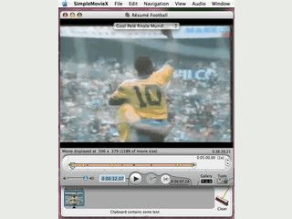 Praktischer, kleiner Videoeditor für Mac OS
