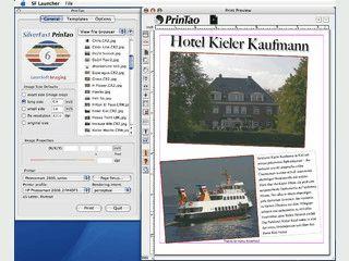 Software zum einfachen und schnellen Ausdruck von Bildern, z.B. für Alben o.ä.