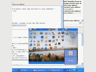 Zugriff auf alle Desktop-Verknüpfungen über ein Mini-Desktop im SysTray.