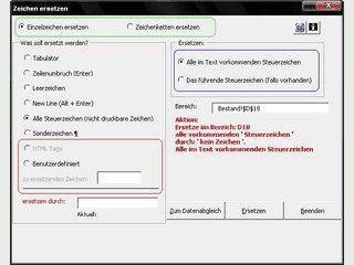 AddIn für MS Excel zur Vorbereitung von Daten für Mailings.