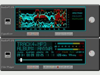 Audio Player mit integriertem Equalizer und Spectrum Analyzer
