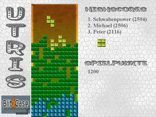 Einfacher Tetris-Clone.