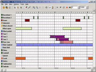 Drumsite ist eine virtuelle Drum-Machine mit zahlreichen Optionen.