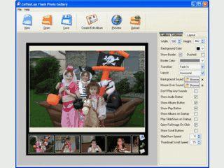 Einfache Erstellung einer Flash-basierten Foto-Gallerie.