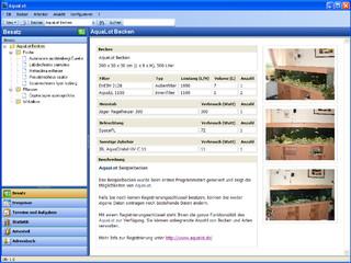 Verwaltungssoftware für Aquarium-Besitzer und Fischzüchter.