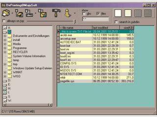 Drucken Sie den Inhalt Ihrer Datentraeger mit diesem einfachen Programm.