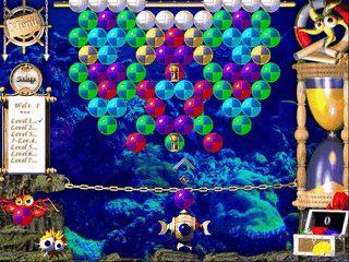 Buntes Action- und Denkspiel in einer Unterwasserwelt mit vielen Extras.