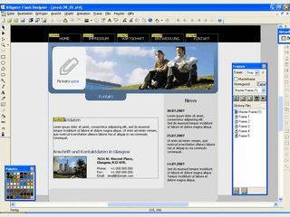 Software zum Erstellen von Flash-basierten Animationen, Banner usw.