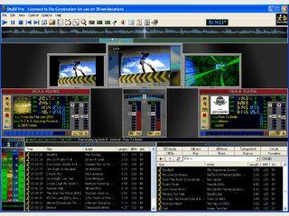 DJ und VJ Software mit vielen Funktionen wie Automixing usw.
