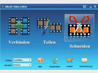3 Tools zum schneiden, teilen und zusammenfügen von Videodateien.